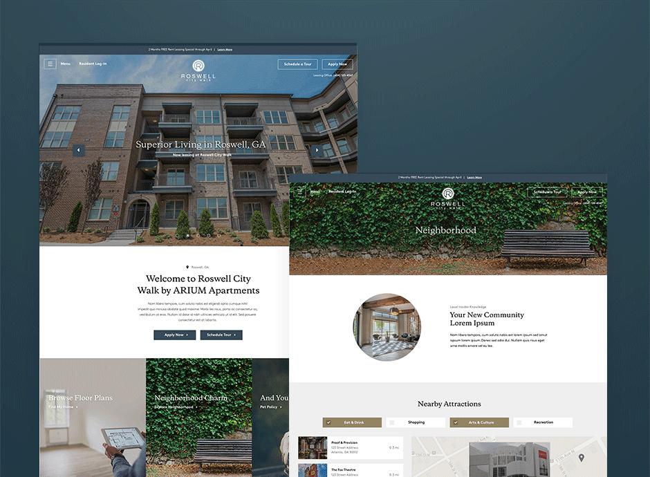 ARIUM Living Website